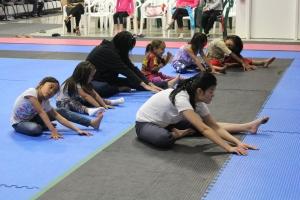 Fremont Tiny Team Training Dance